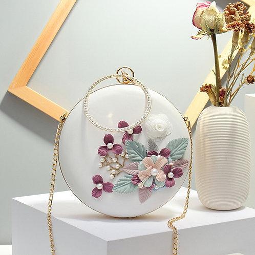 Flower Round Bag