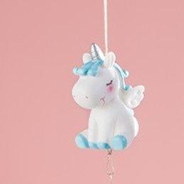Wind Chime - Blue Unicorn