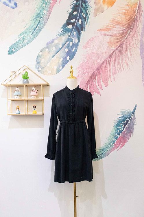 BALIJING Long Sleeve Shirt Dress