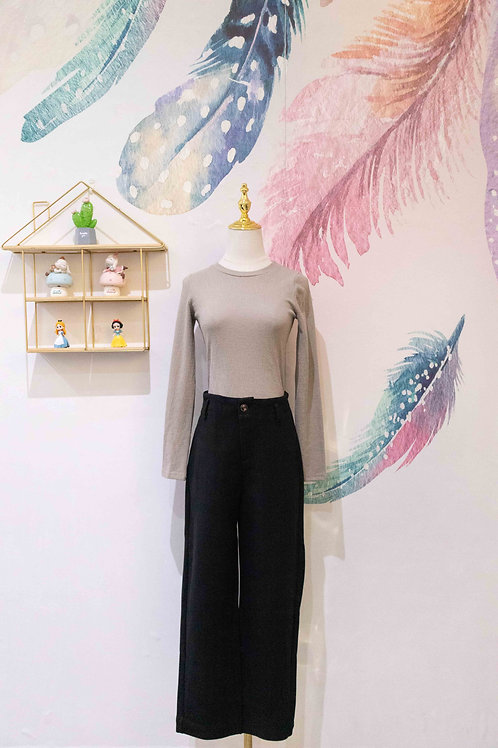 D.TWO Woolen-feel Pant