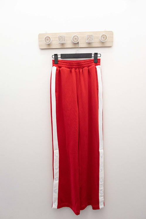 D.TWO Red Pant with White Stripe