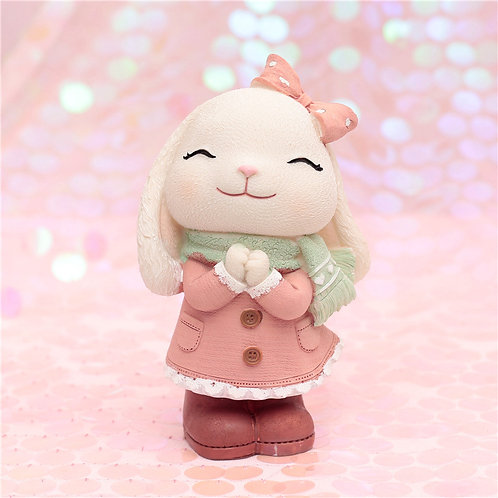Annie Bunny Money Box - Girl
