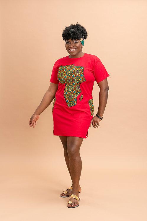 Mama Africa mini dress