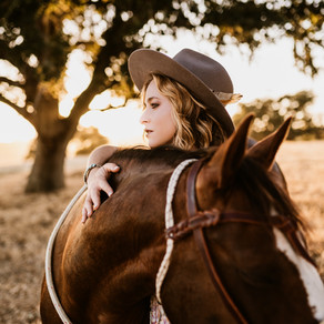 This GIRL and her HORSE! OMG!