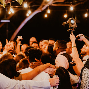 How to NOT have your Wedding Ceremony photo-bombed by devices!