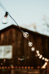 wedding venue light fixtures