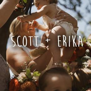Scott + Erika!