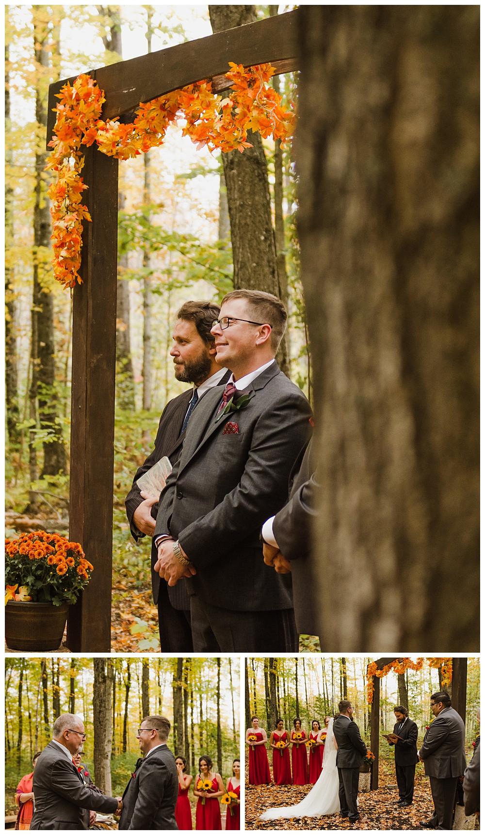 Groom Waiting for Bride, Temples Sugar Bush, Ottawa Wedding Photographer, Ottawa Boudoir Photographer