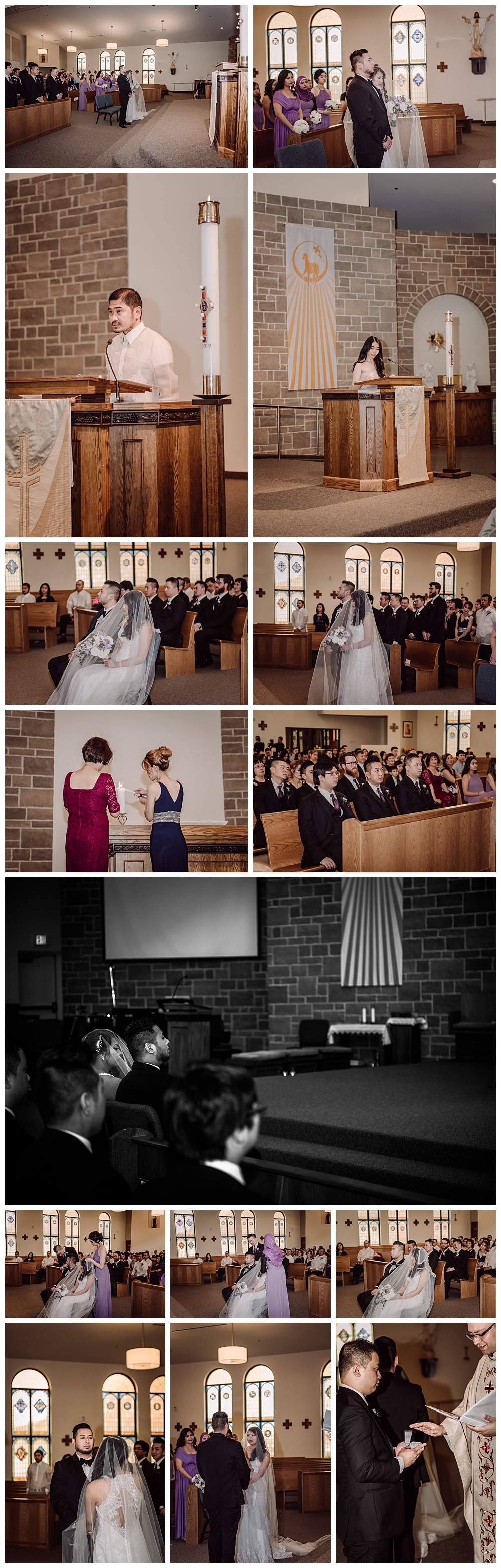 Ceremony, Church, Speeches, Bride and Groom, Traditional Blessings
