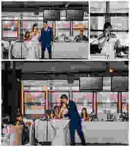 Ottawa Wedding Photographer, Ottawa Wedding Photography, Reception, Lago Bar & Grill, Bride & Groom Speech