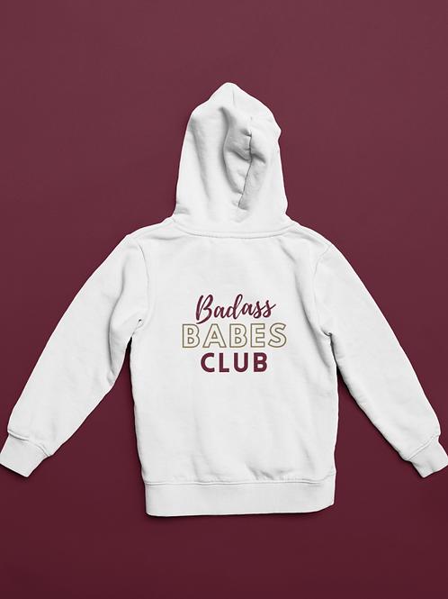 Badass Babes Club Zipper Sweater