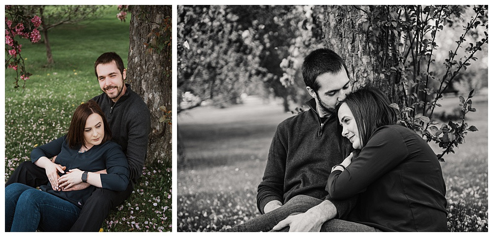 Ottawa Wedding Photographer, Ottawa Engagement Photographer, Ottawa Engagement, Ornamental Gardens, Spring Engagement
