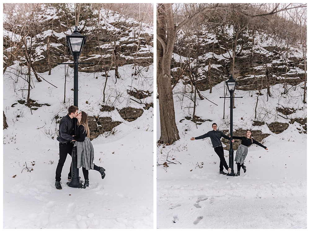 Laura & Will's Winter Engagement Session, Ottawa Photographer, Ottawa Wedding Photographer, Ottawa Boudoir Photographer, Ottawa Engagement Session, Ottawa Winter Engagement Session, Bytown Museum Ottawa, Rideau Canal Ottawa, Fairmont Chateau Laurier Ottawa