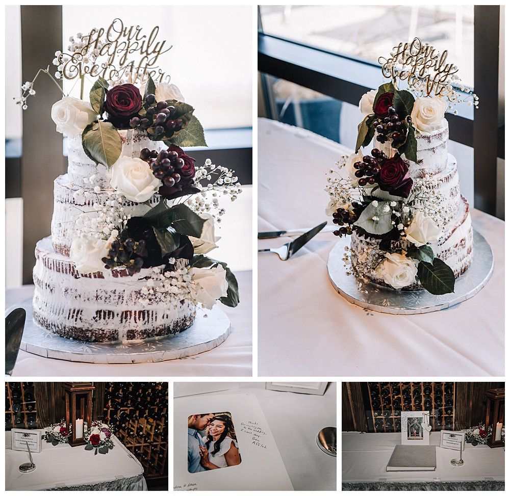 Ottawa Wedding Photographer, Ottawa Wedding Photography, Details, Wedding Cake, Guestbook, Lago Bar & Grill