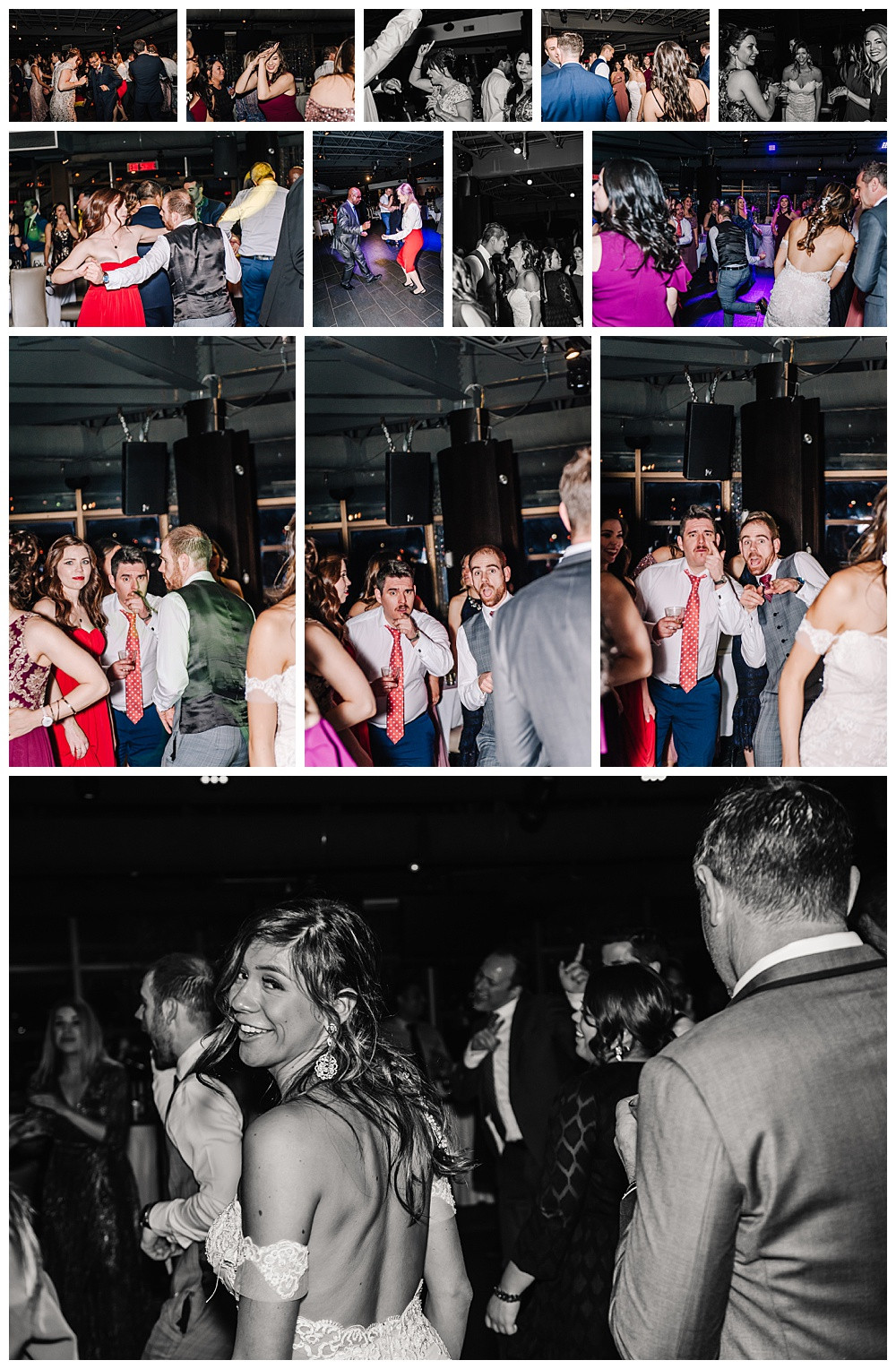 Ottawa Wedding Photographer, Ottawa Wedding Photography, Lago Bar & Grill, Reception, Guests Dancing