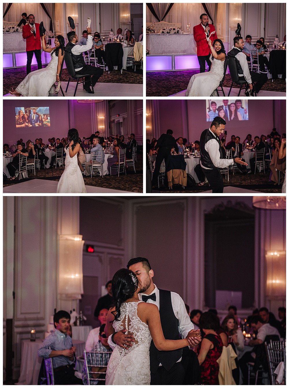 Shoe Game, Bride and Groom Dance off