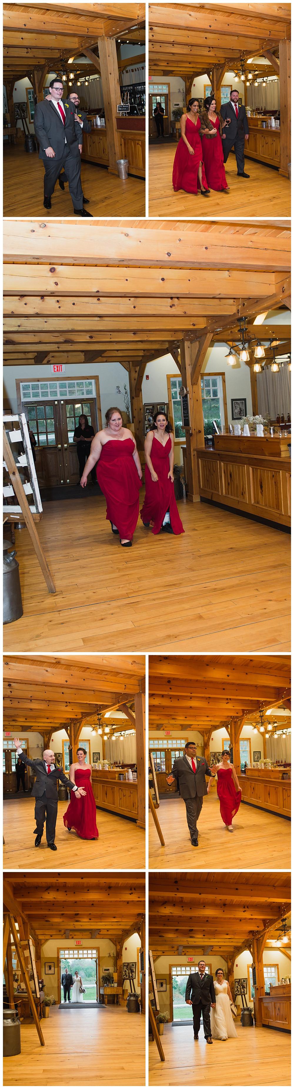 Intro of Wedding Party, Temples Sugar Bush, Ottawa Wedding Photographer, Ottawa Boudoir Photographer