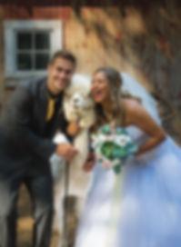 Ottawa Farm Alpaca Wedding