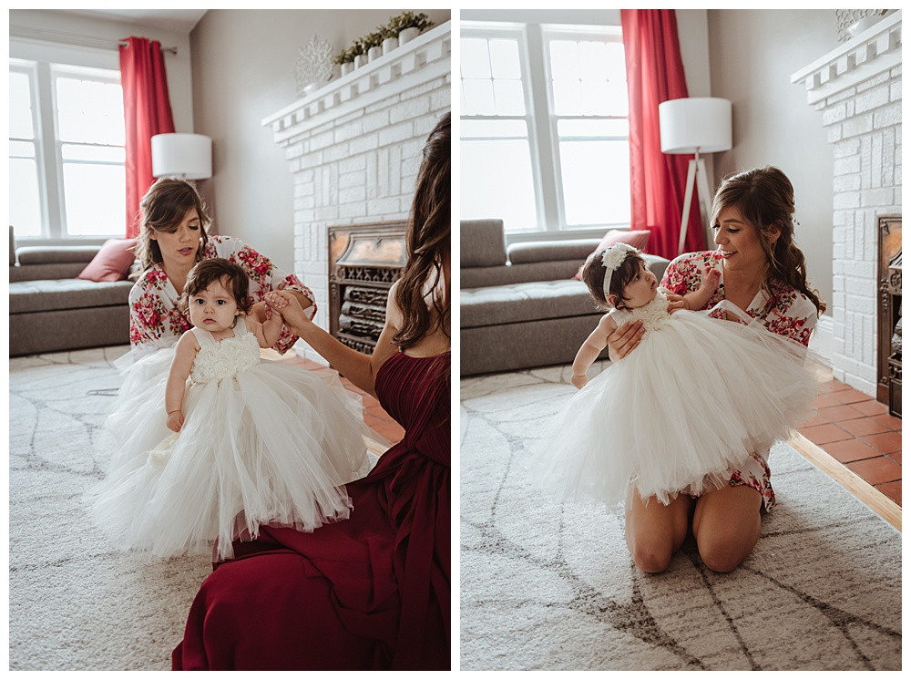 Ottawa Wedding Photographer, Ottawa Wedding Photography, Flower Girl & Bride