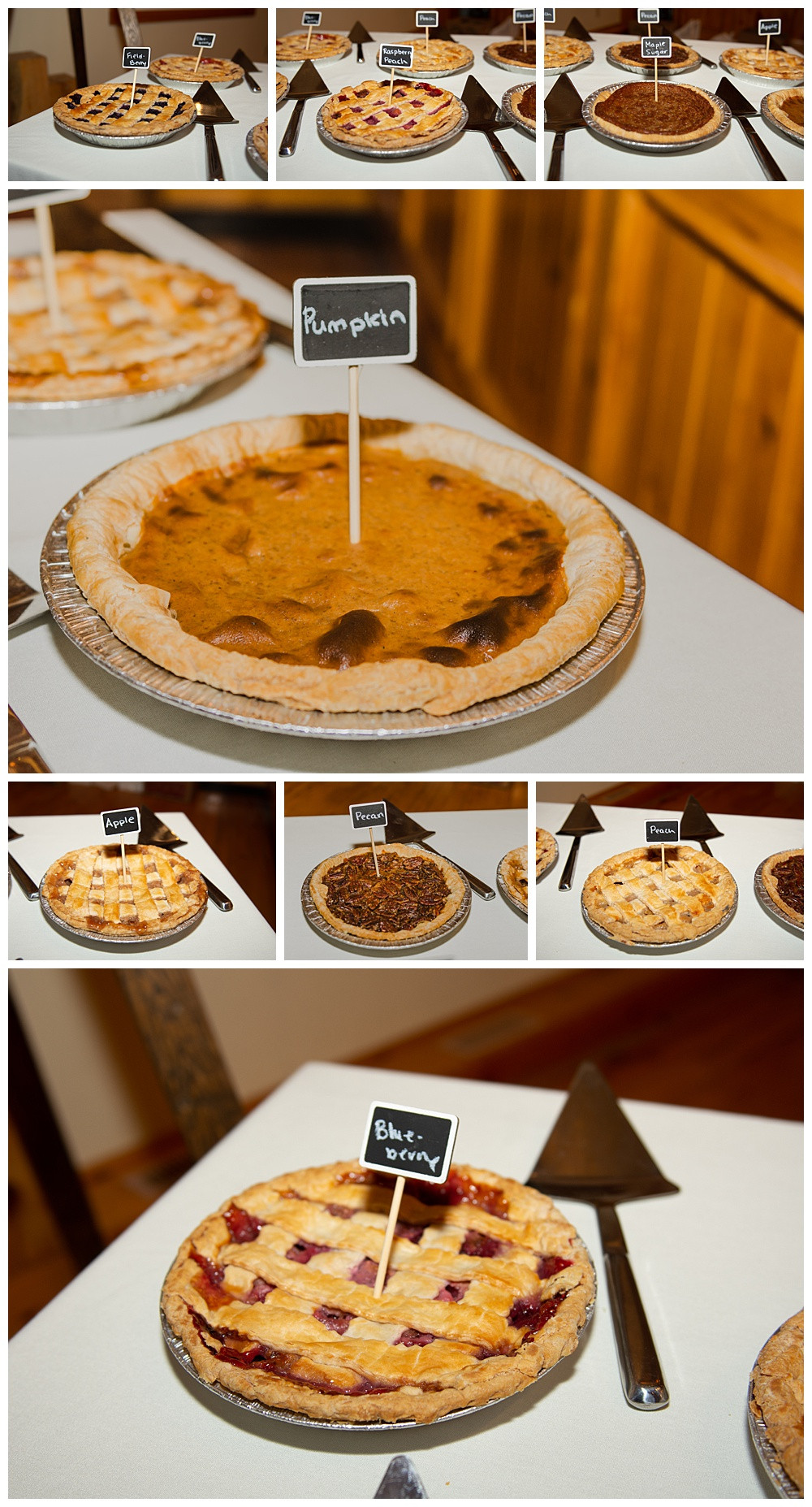 Dessert Buffet, Pies, Temples Sugar Bush, Ottawa Wedding Photographer, Ottawa Boudoir Photographer
