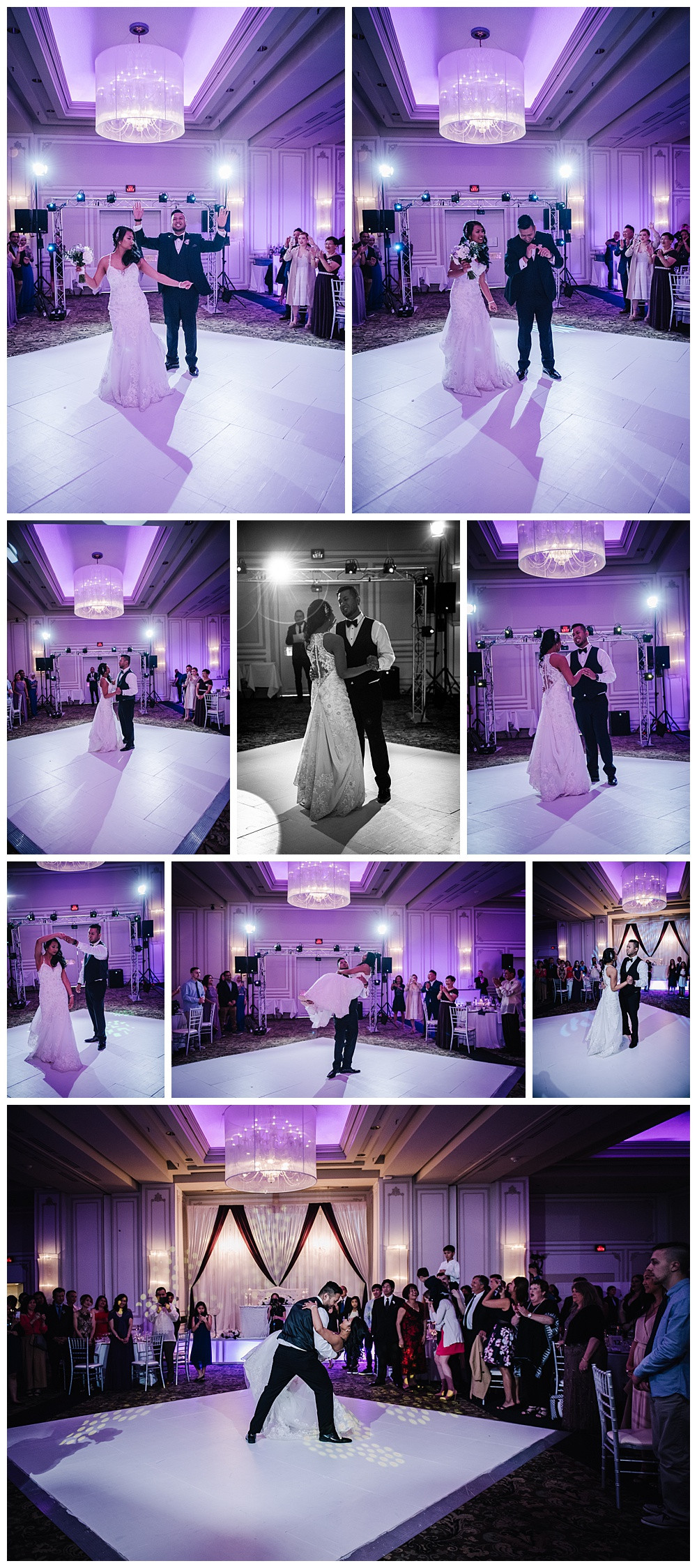 Bride and Groom intro, First Dance, Bride and Groom Dancing