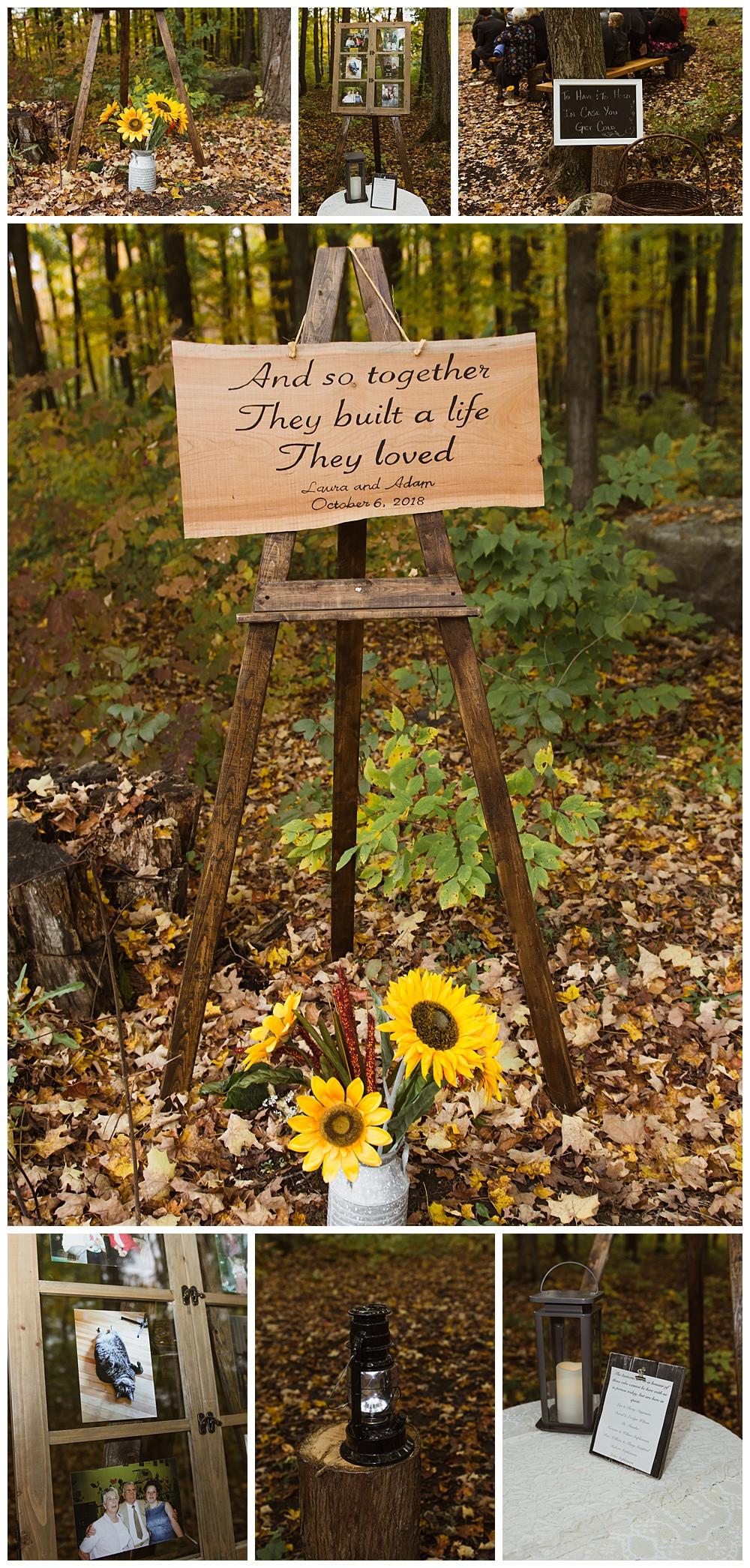 Ceremony Details, Temples Sugar Bush, Ottawa Wedding Photographer, Ottawa Boudoir Photographer