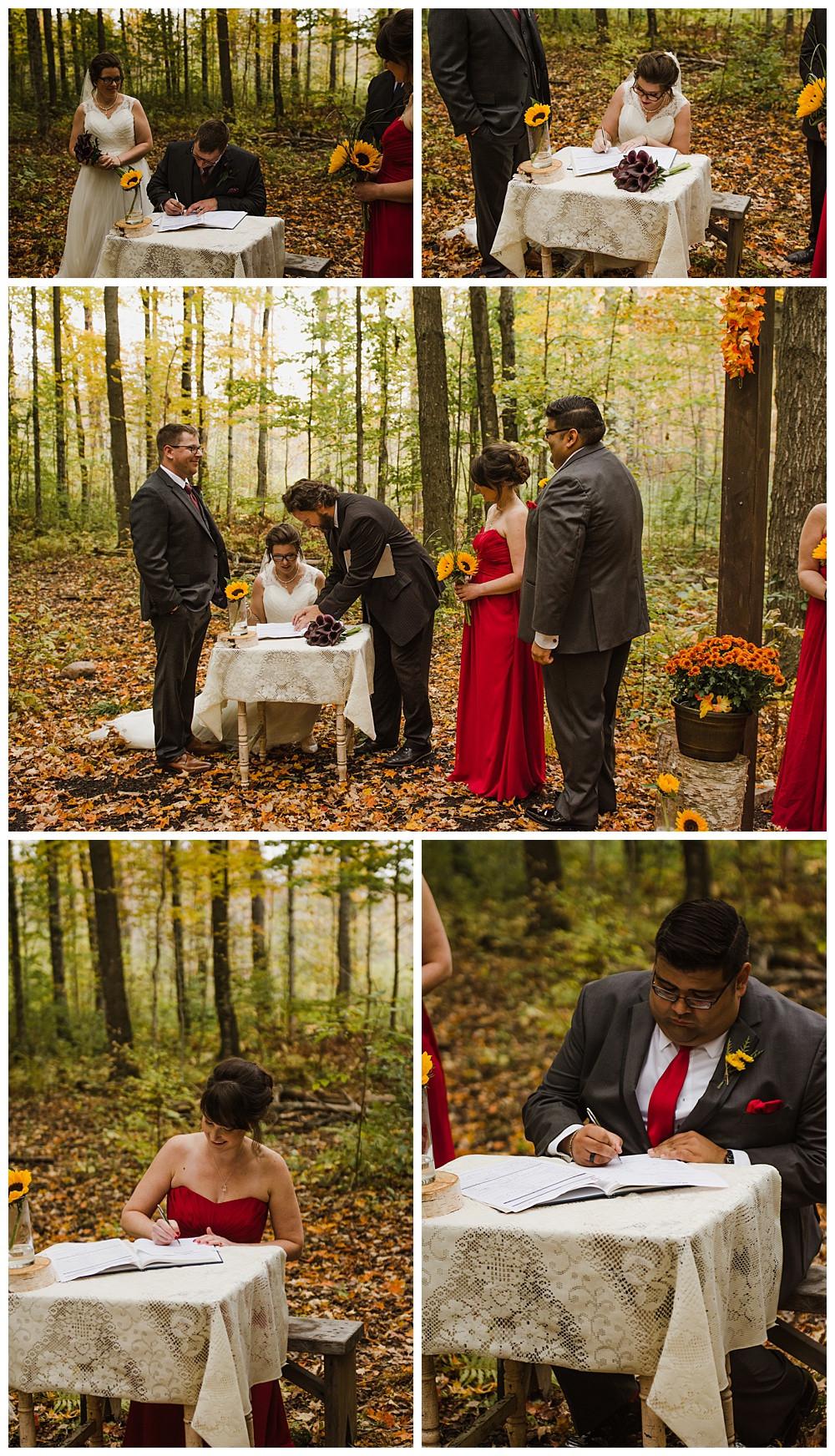 Signing Papers, Temples Sugar Bush, Ottawa Wedding Photographer, Ottawa Boudoir Photographer