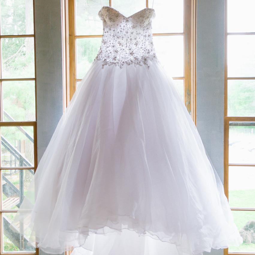 Styled Shoot at Pine Lodge - Wedding Dress
