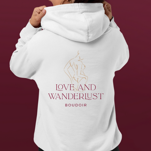 Love + Wanderlust Full Back Hoodie