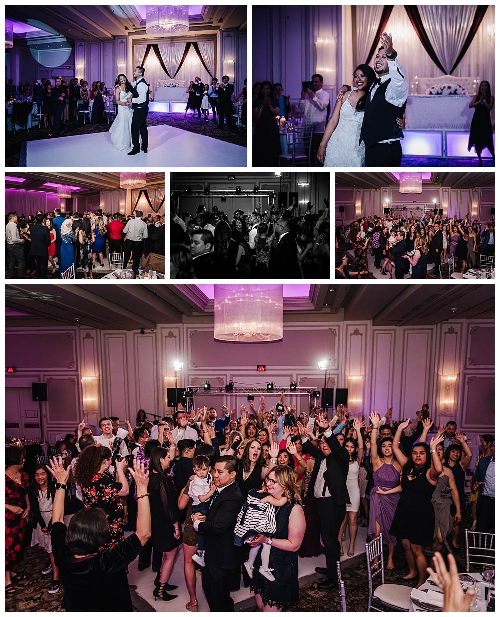 Dancing, Guests Dancing, Bride and Groom Dancing