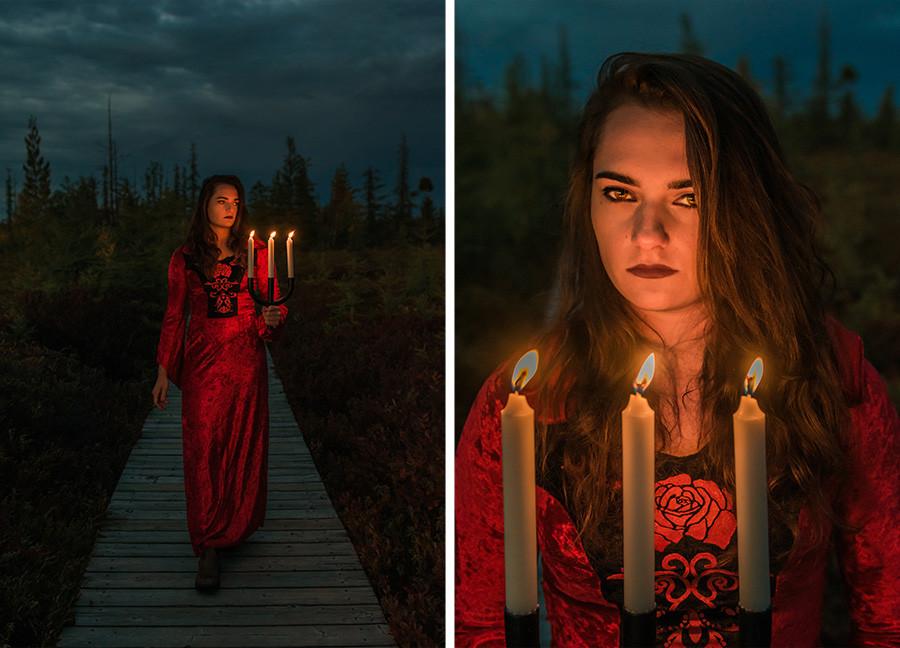 Kristina Halloween, Mer Bleue, Ottawa Photographer