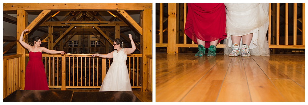 Bride & Maid of Honour Dual, Temples Sugar Bush, Ottawa Wedding Photographer, Ottawa Boudoir Photographer