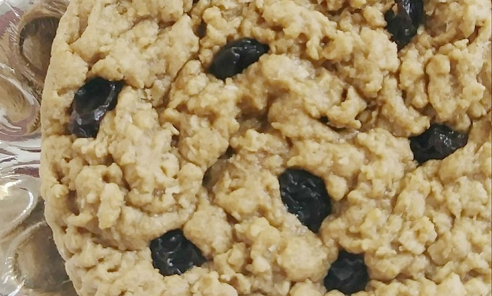 Raisin Oatmeal Gourmet Cookie Gift | Awesome Oat Cookies Large 12 Count