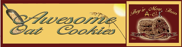 Awesome Oat Cookies Logo