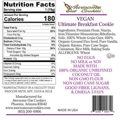 VEGAN Cookie Label