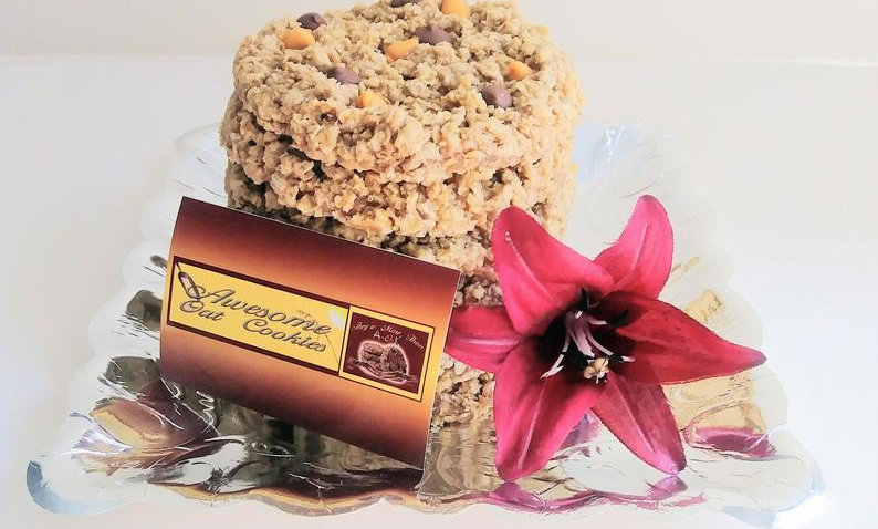 Large Fresh Baked Awesome Oat Cookies Gourmet Cookie Gift,6 Count,Send a Gift