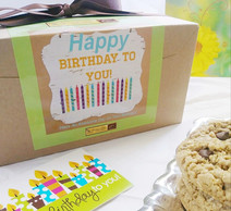 Happy Birthday Gourmet Cookie Gift