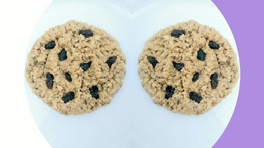 awesome oat cookies vegan cookies