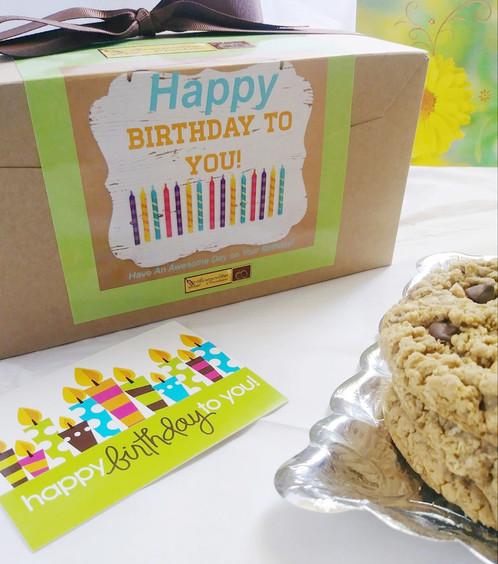 Happy Birthday Gourmet Cookie Gift 1 Dozen 34993699 Gourmet