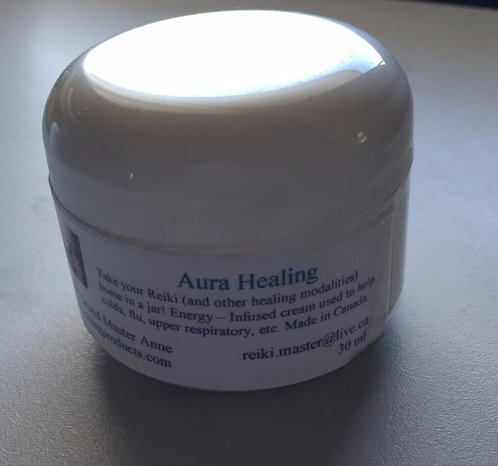 Aura Healing Cream (For colds and flus)
