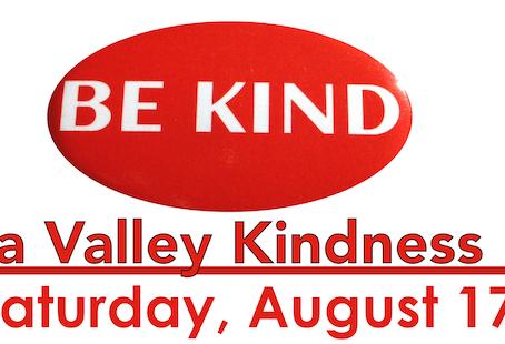 Be Kind Napa Walk and Kindness Celebration