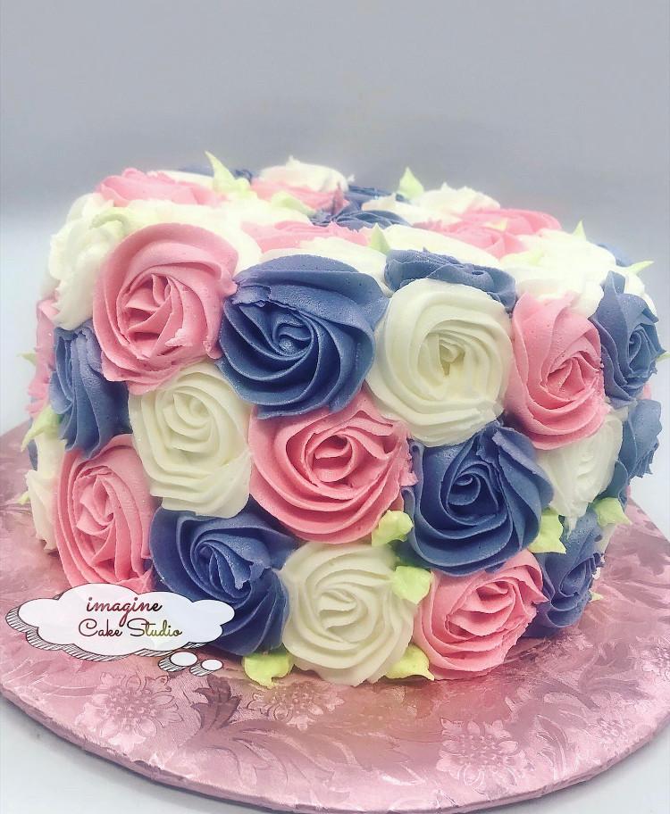 RosetteMulti Cake