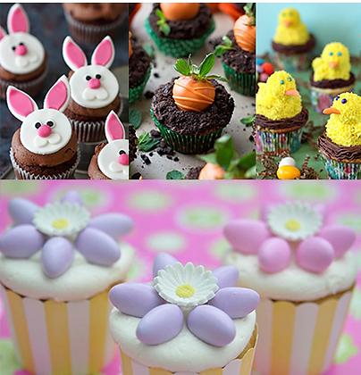Dozen Assorted Easter Cupcakes