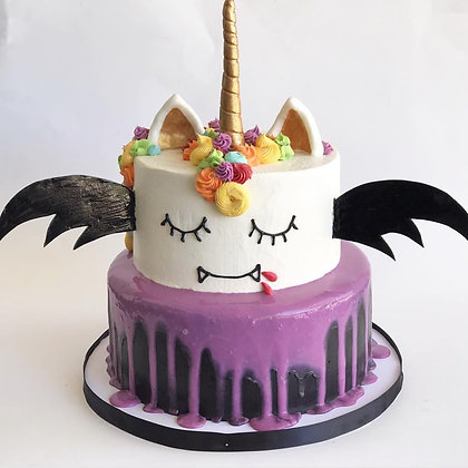 Bat Unicorn Cake