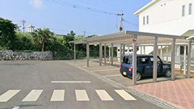 ハレルヤ子ども園の環境駐車場