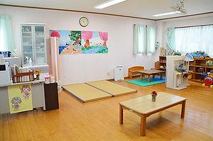 ハレルヤ子ども園病児保育室室内