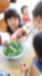 ハレルヤ子ども園食育1