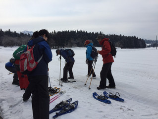 歩くスキー&スノーシューハイク