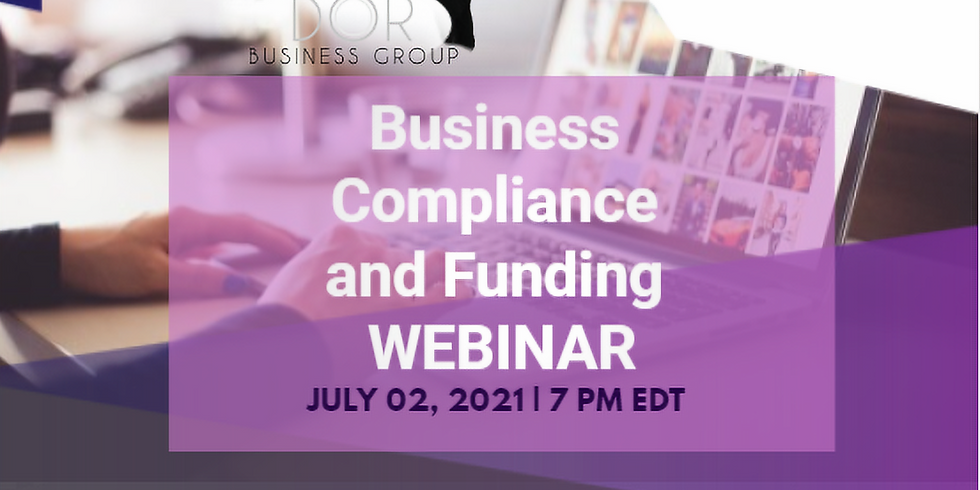Business Compliance and Funding