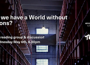 4FRONT joins The World Transformed and Abolitionist Futures for Abolitionist reading group launch